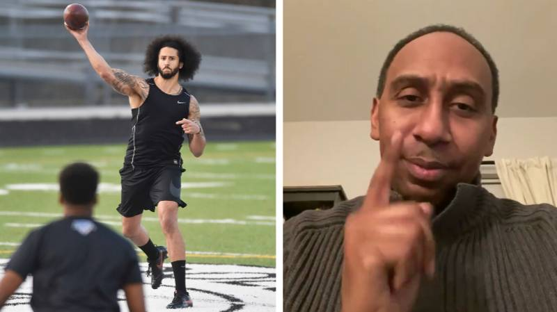 Stephen A. Smith Hits Out At Colin Kaepernick For Changing Workout Venue At Short Notice
