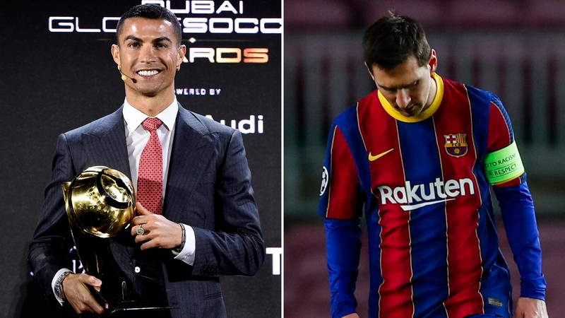 Cristiano Ronaldo Named 'Player of the Century' Ahead Of Lionel Messi