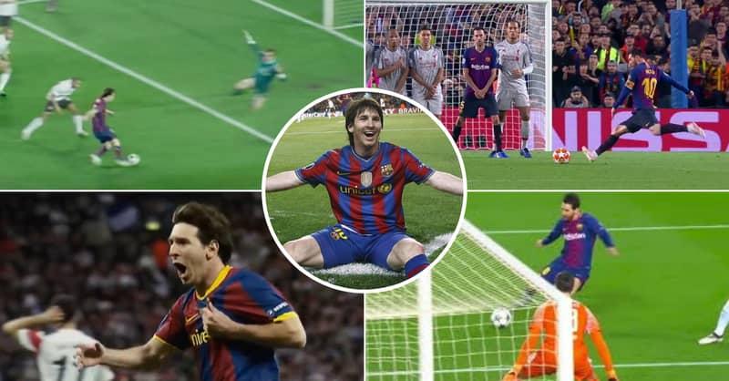 Insane Lionel Messi Highlights Shows Him Destroying Premier League Big Six