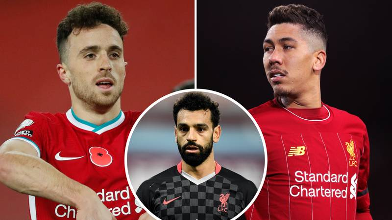 Mohamed Salah Responds To Liverpool Fans Wanting Diogo Jota To Start Ahead Of Roberto Firmino