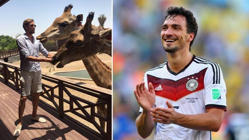 Even Mats Hummels Has Reacted To Peter Crouch's Giraffe Tweet