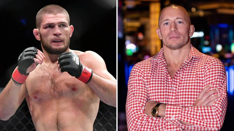 UFC Legend Georges St-Pierre Responds To Rumours Of A Dream Fight With Khabib Nurmagomedov
