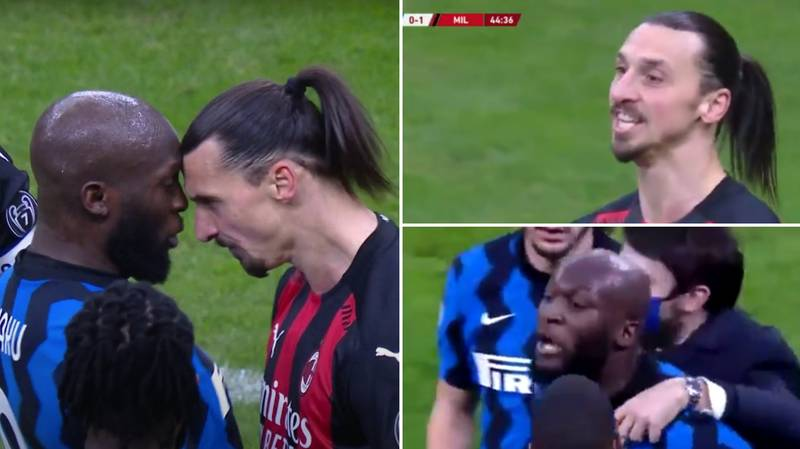 Romelu Lukaku Says 'F**k You And Your Wife' In Angry Outburst Towards Zlatan Ibrahimovic