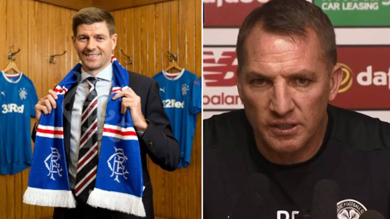 Brendan Rodgers Hits Back At Steven Gerrard In The Most Brutal Way