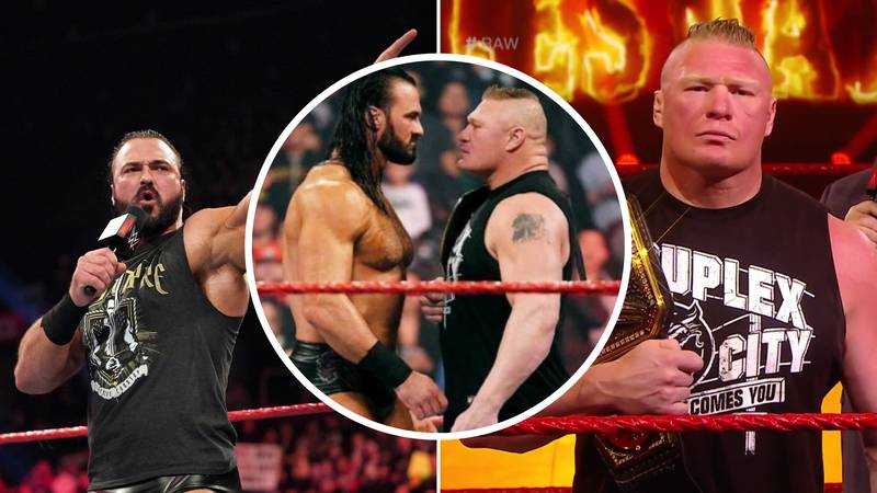 Drew McIntyre: Me Vs Brock Lesnar Is Going To Be A 'Pub Fight'
