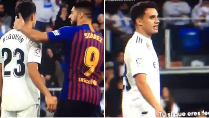 Real Madrid's Sergio Reguilón Told Luis Suárez 'You're So Ugly' In El Clasico Spat