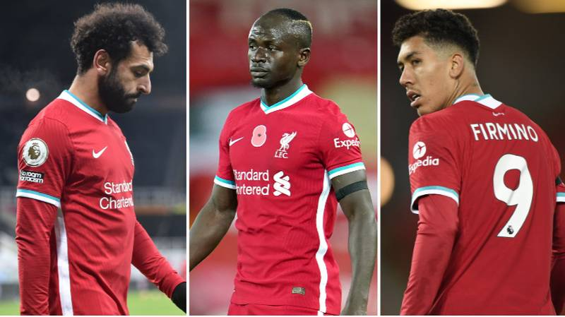 Salah, Mane And Firmino Have Scored Just THREE Goals Between Them Against Manchester United