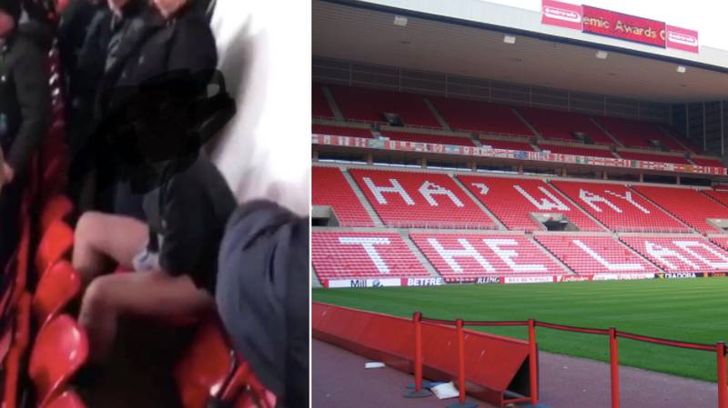 A Sunderland Fan Has Gone Viral After Taking An Actual S**t In His Seat
