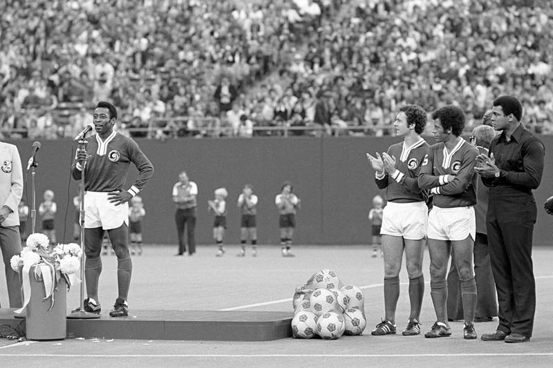 Pele Posts Moving Tribute To The Late, Great Muhammad Ali