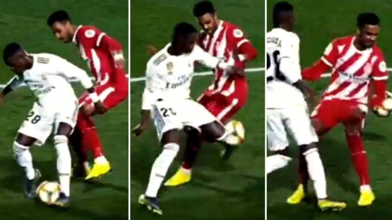 Vinicius Junior Ruined Two Girona Players With Filthy Skill In Copa Del Rey Win