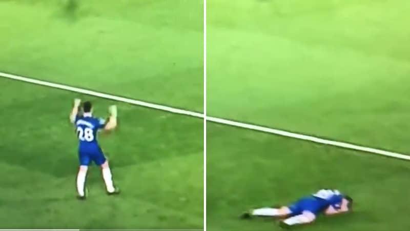 César Azpilicueta's Reaction To Chelsea's Goal Shows Why He Is A True Captain