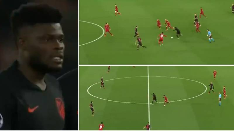 Thomas Partey's Individual Highlights Vs. Liverpool Proves He's An Elite Midfielder