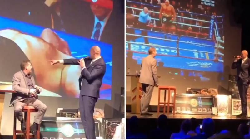 Tyson Fury's Alternative Commentary Of THAT 12th Round With Deontay Wilder