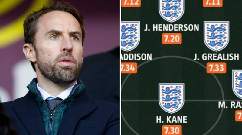 How England Should Line Up Based On This Season's Stats