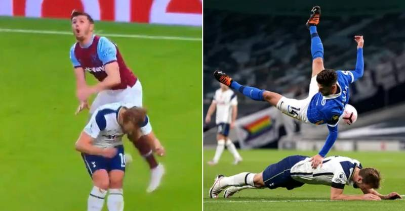 Harry Kane Under Fire For Backing In: 'He Could Break Someone's Neck'