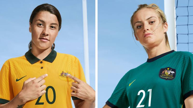 Matildas Fans Left Fuming As New Nike Jerseys Aren't Available In Women's Sizes