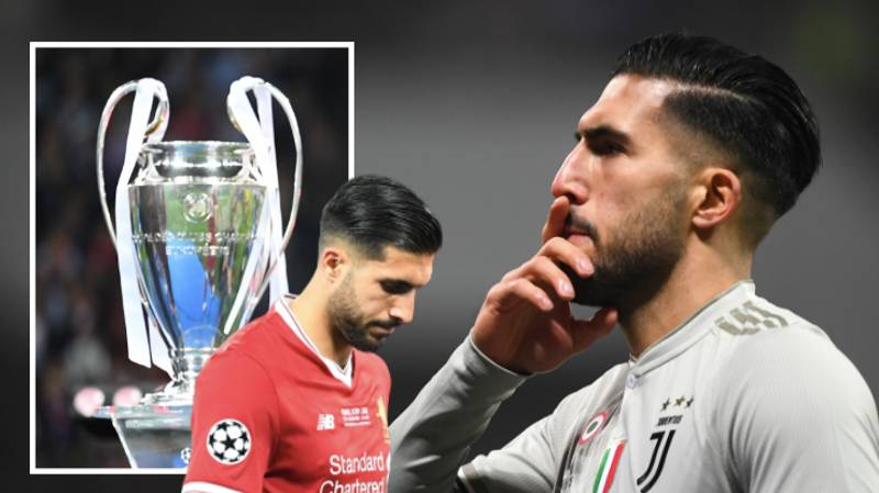 Emre Can Left Out Of Juventus' 23-Man Champions League Squad And He's Furious