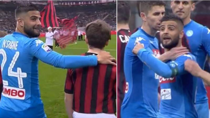 Lorenzo Insigne's Reaction After He Gets The Two Tallest Mascots Is Priceless