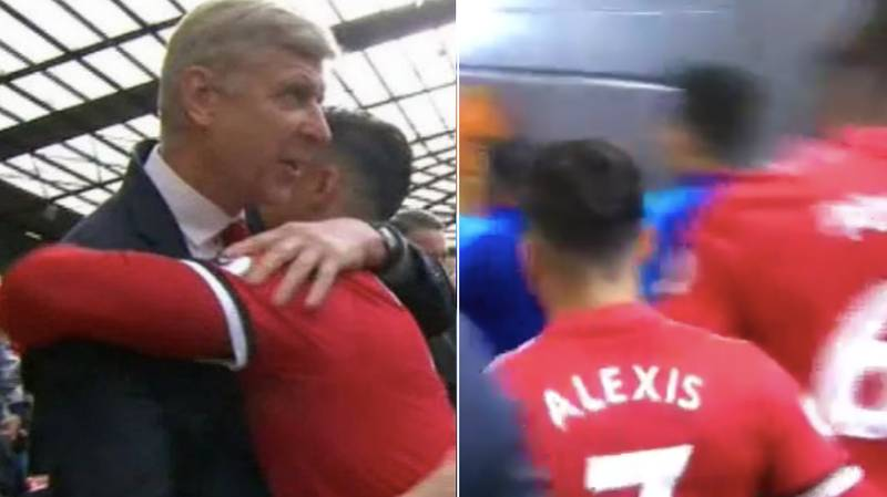 Alexis Sanchez's Gesture To Arsene Wenger And His Former Teammates Is World Class