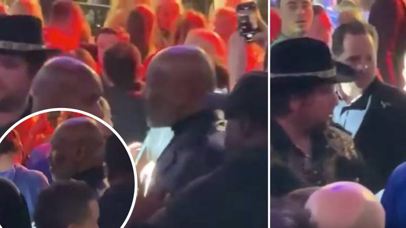Unseen Footage Of Mike Tyson In Altercation With Fan Trying To Sneak A Cheeky Selfie