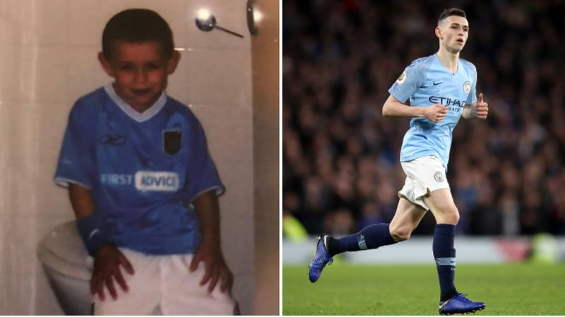 Phil Foden Was 11 When Aguero Scored His First City Goal, He Assisted His 200th