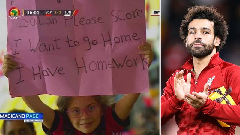 Mohamed Salah Tweets Brilliant Apology To Little Girl After Scoring Late Winner For Egypt