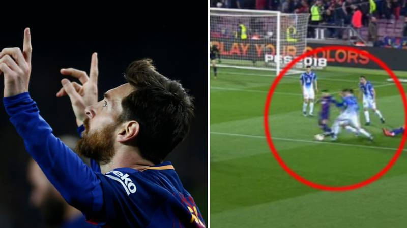 What Lionel Messi Did In Build-Up To Goals Vs Espanyol Proves He Does Everything