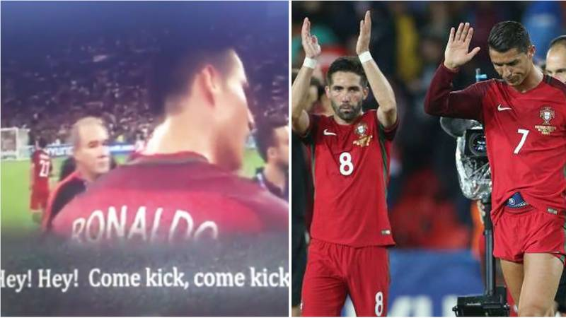 Watch: When Cristiano Ronaldo Proved He's A Great Leader In Euro 2016