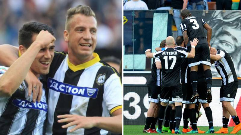 Udinese Players Wore 11 Different Kits Against Lazio For A Brilliant Reason