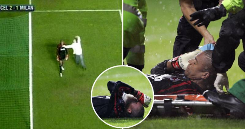When Dida's WWE Act Vs Celtic Saw Him Fake An Injury And Get Stretchered Off
