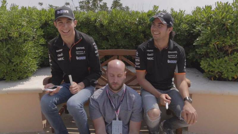 WATCH: Sahara Force India Drivers Put Their Artistic Skill To The Test