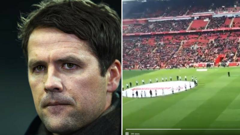 Liverpool Fans Let Michael Owen Know What They Really Think Of Him During Legends Match