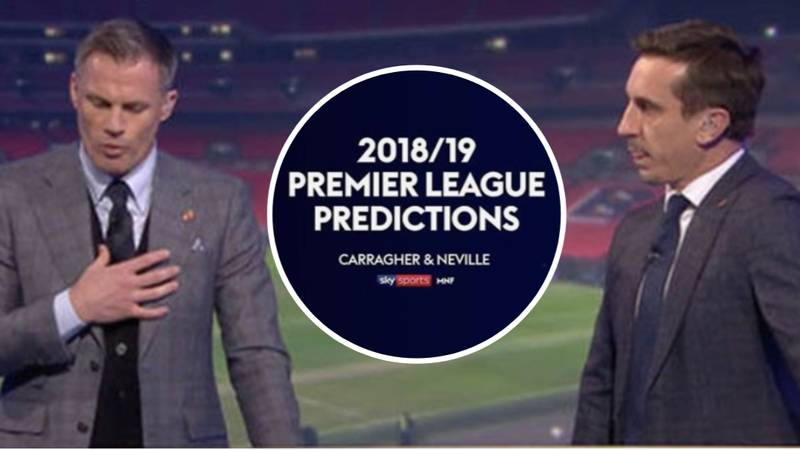 Remembering Carragher And Neville's 2018/19 Premier League Predictions