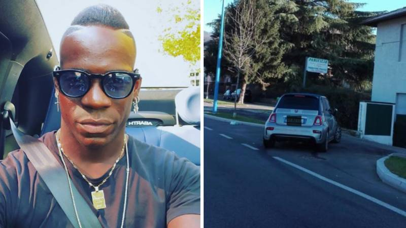 Mario Balotelli Involved In A Car Crash At 5am On New Year's Day