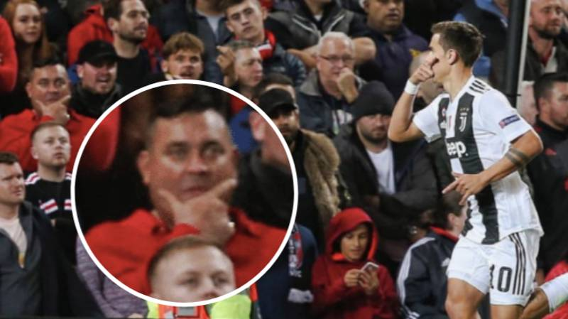 Manchester United Fan 'Attempts' To Perform Paulo Dybala's Trademark Celebration