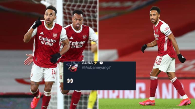 Pierre-Emerick Aubameyang Forced To Delete Tweet After Fans Backlash