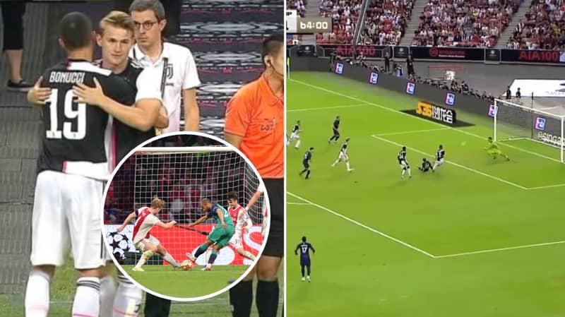 Tottenham's Lucas Moura Returns To Haunt Matthijs de Ligt On His Juventus Debut