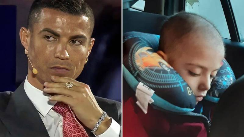 Cristiano Ronaldo Donates Money To Help Seven-Year-Old Boy Receive Rare Cancer Treatment