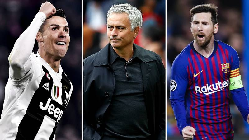 José Mourinho Just Ended The Cristiano Ronaldo-Lionel Messi Debate Once And For All