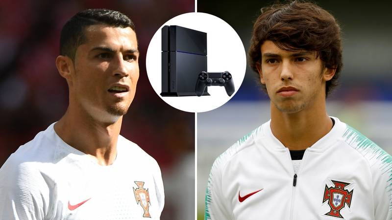 Felix On Ronaldo: 'I Told My Friends That He Looked Exactly Like He Did On The PlayStation'