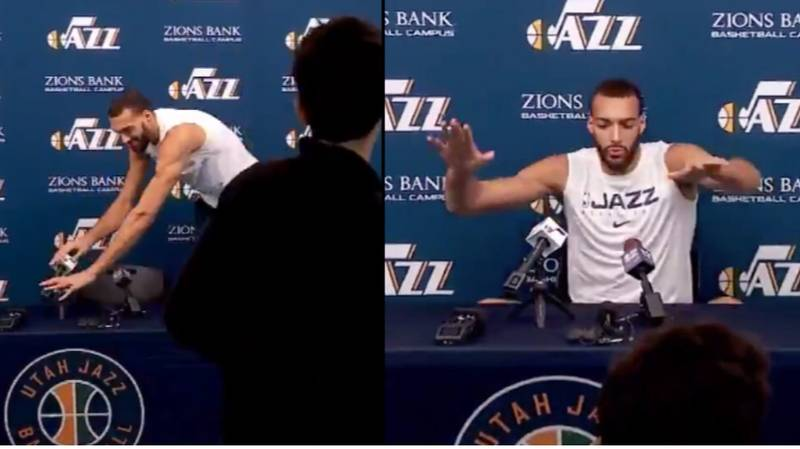 NBA Player Tests Positive For Coronavirus Days After Rudy Gobert Touches Every Mic In Conference