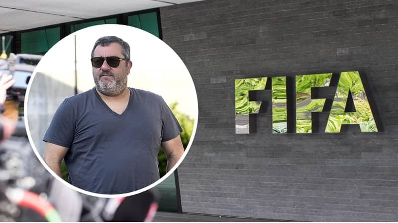 Super Agent Mino Raiola Sensationally Vows To 'Delete' Football's Governing Body, FIFA