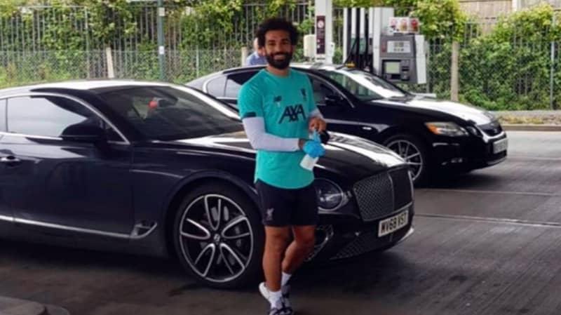 Mo Salah Turns Up At Petrol Station And Pays For Everyone's Petrol