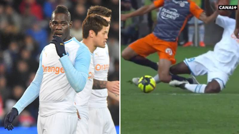 Mario Balotelli Sent Off In What Is Likely His Final Game For Marseille