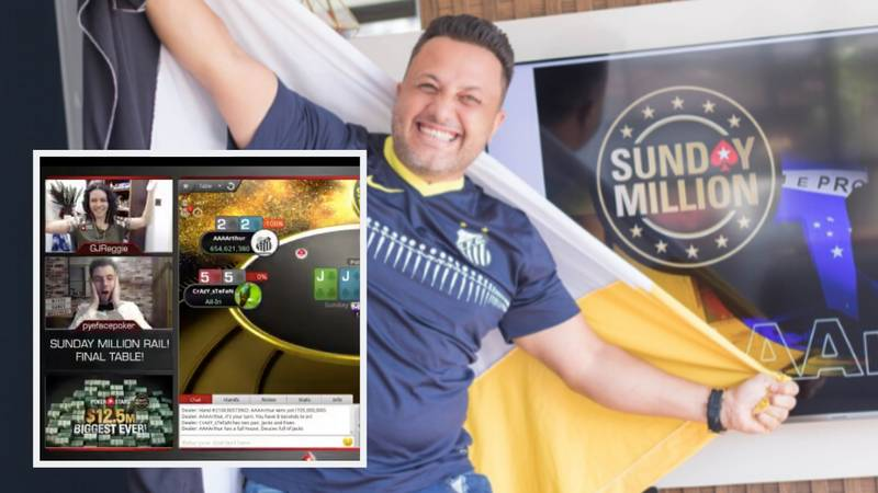 Brazilian Poker Player Turns $11 Into $1,192,802 During PokerStars Biggest-Ever Online Tournament