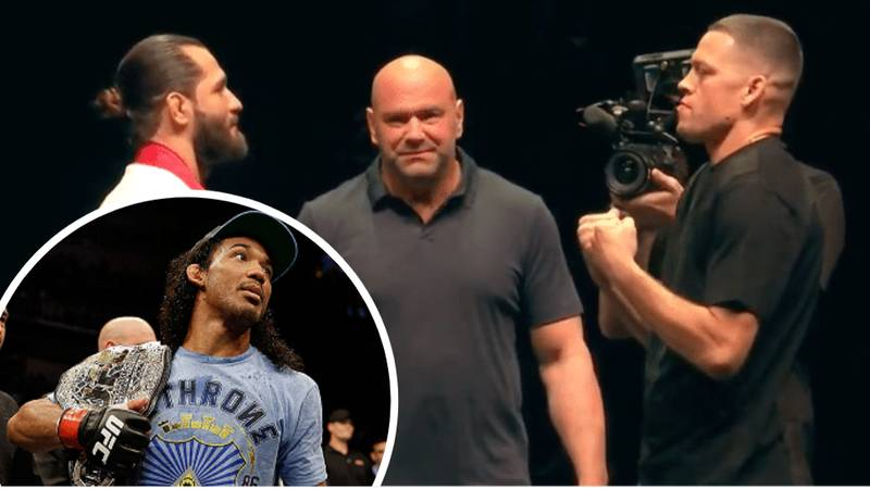"Ex-UFC Champion Benson Henderson Slams ""Made Up"" BMF Title"