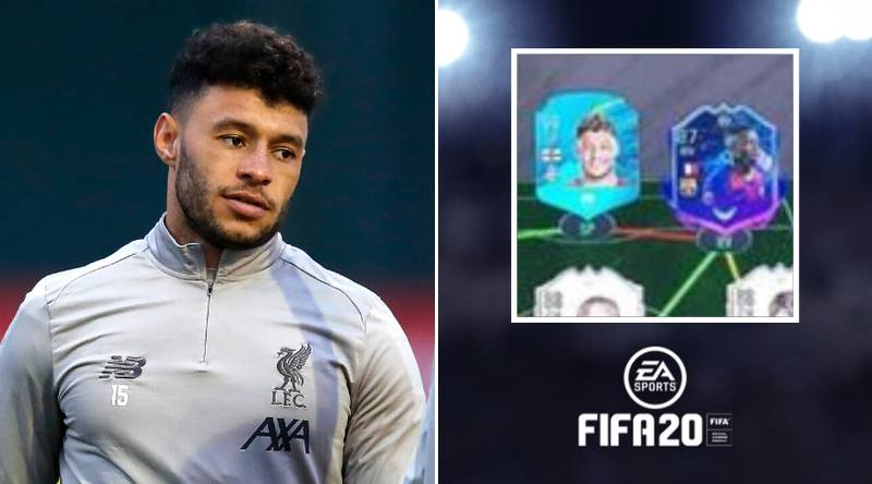 Liverpool Star Alex Oxlade-Chamberlain Picks Himself Up Front In His FIFA 20 Ultimate Team