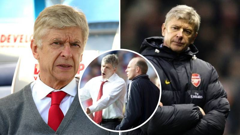 Two Of Arsene Wenger's Biggest Meltdowns Revealed By A Former Arsenal Player