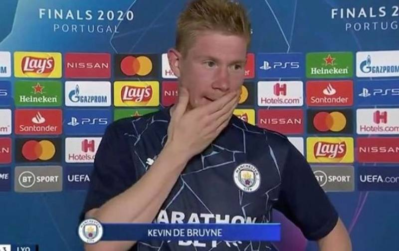 Kevin De Bruyne Gives Most Honest Interview Of His Life After Man City's Champions League Exit