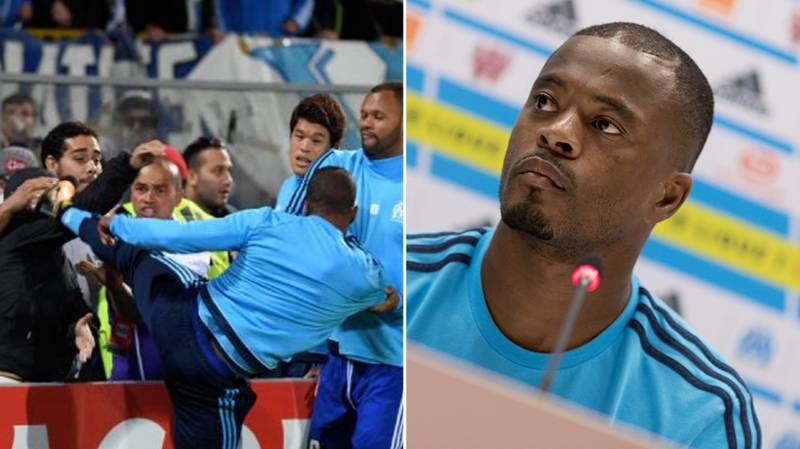 Patrice Evra Finally Posts On Social Media For The First Time Since Kicking A Fan